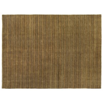 Metropolitan Hand-Knotted Wool Gold Area Rug