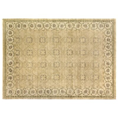 Ziegler Hand-Knotted Wool Beige Area Rug