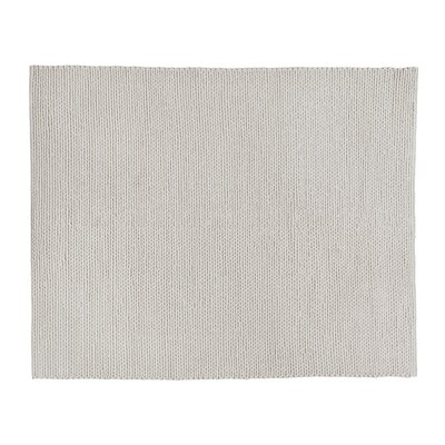 Arlow Hand-Woven Ivory Area Rug Rug Size: Rectangle 10 x 14