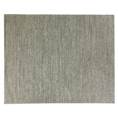 Crestwood Hand-Woven Black Area Rug Rug Size: Rectangle 8 x 10