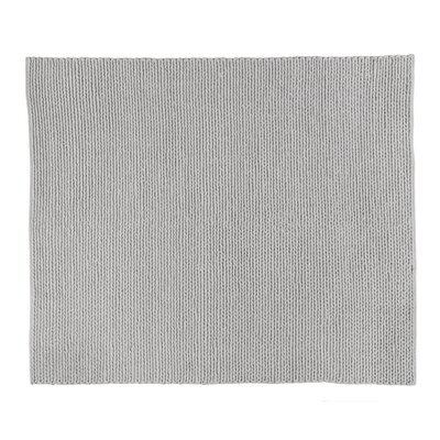 Arlow Hand-Woven Light Gray Area Rug Rug Size: Rectangle 9 x 12