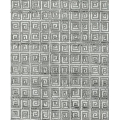 Metro Hand-Knotted Gray Area Rug
