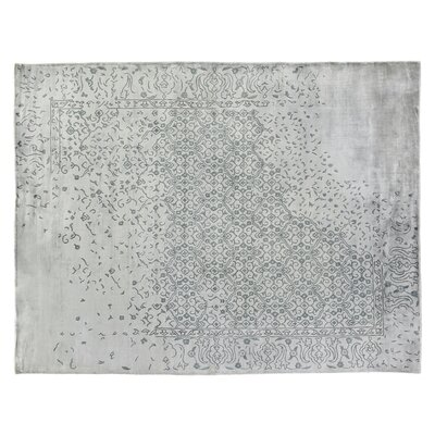 Envy Hand-Woven Gray Area Rug Rug Size: Rectangle 14 x 18