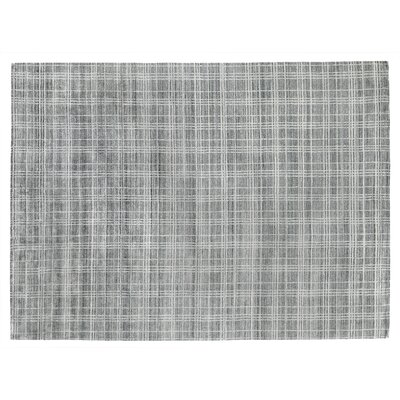 Fairbanks Hand-Woven Gray Area Rug Rug Size: Rectangle 9 x 12