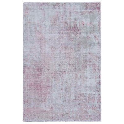Carmen Pink Area Rug Rug Size: Rectangle 8 x 10