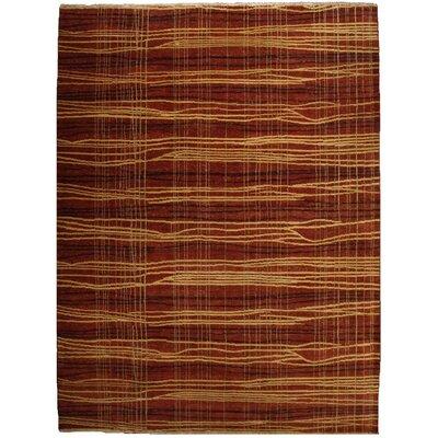 Metropolitan Hand-Knotted Wool Beige/Brown Area Rug