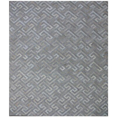 One-of-a-Kind Berlin Hand-Woven Gray/Beige Area Rug