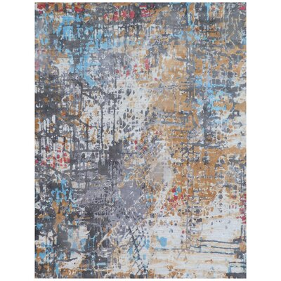 Reflections Red/Blue Area Rug Rug Size: Rectangle 9 x 12