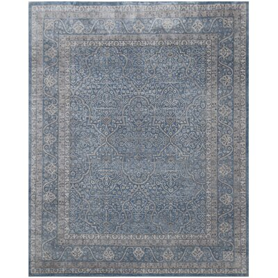 Richmond Hand-Knotted Blue Area Rug Rug Size: Rectangle 8 x 10