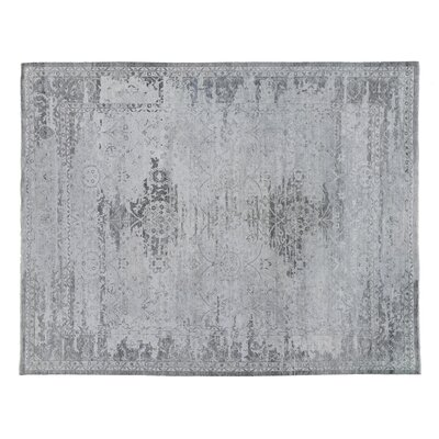 Beverly Hand-Knotted Sand Area Rug Rug Size: Rectangle 12 x 15
