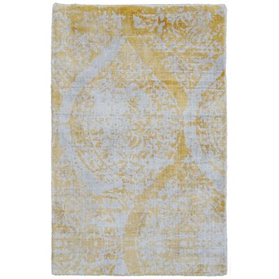 Carmen Yellow Area Rug Rug Size: Rectangle 14 x 18