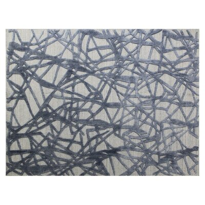 Windsor Hand-Woven Wool Beige/Gray Area Rug Rug Size: Rectangle�14 x 18