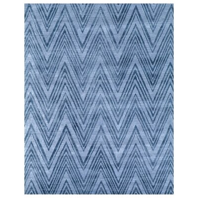 Reflections Hand-Woven Blue/Denim Area Rug Rug Size: Rectangle�10 x 14