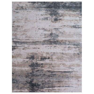 Roset Beige/Gray Area Rug Rug Size: Rectangle 9 x 12