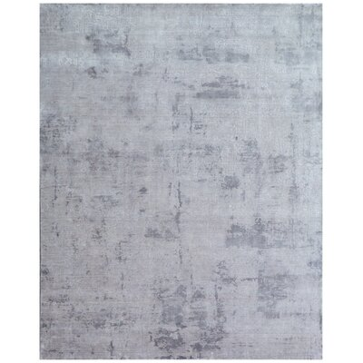Roset Silver Area Rug Rug Size: Rectangle 12 x 15
