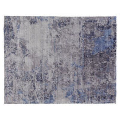 Reflections Silver Area Rug Rug Size: Rectangle 10 x 14