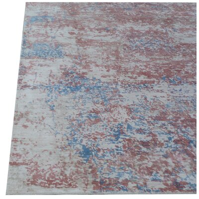 Cassina Ivory/Pink Area Rug Rug Size: Rectangle 9 x 12