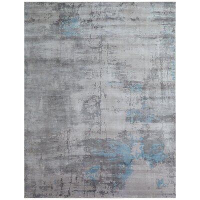 Cassina Gray Area Rug Rug Size: Rectangle 9 x 12