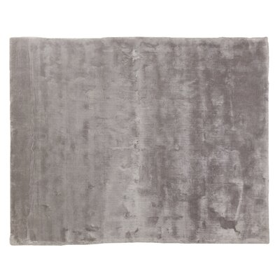 Mohair Gray Area Rug Rug Size: Rectangle 8 x 10