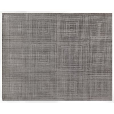 Robin Light Gray Area Rug Rug Size: Rectangle 12 x 15