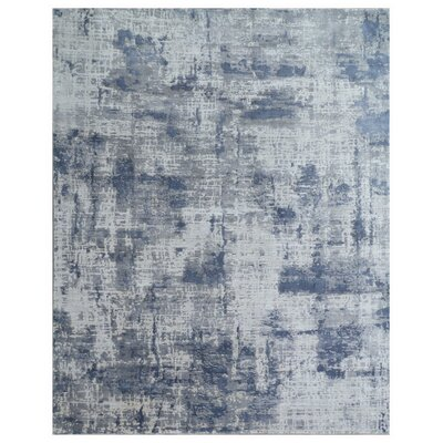 Reflections Silver Area Rug Rug Size: Rectangle 6 x 9