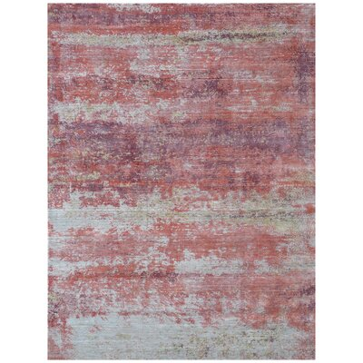 Antolini Red Area Rug Rug Size: Rectangle 10 x 14