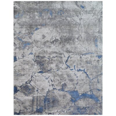Reflections Gray Area Rug Rug Size: Rectangle 8 x 10