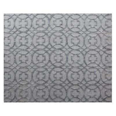 Windsor Wool Gray Area Rug Rug Size: Rectangle 14 x 18