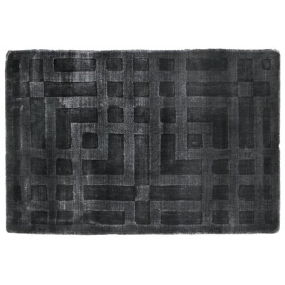 Hazel Dark Gray Area Rug Rug Size: Rectangle 6 x 9