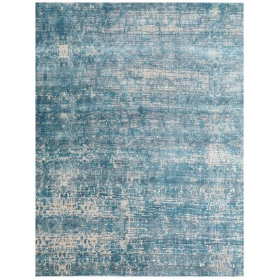 Reflections Teal Area Rug Rug Size: Rectangle 9 x 12