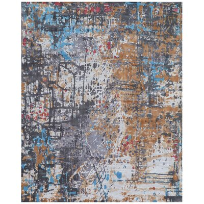 Antolini Gray Area Rug Rug Size: Rectangle 9 x 12