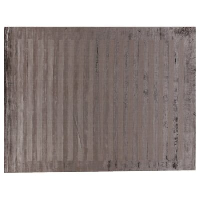 Dark Gray Area Rug Rug Size: Rectangle 14 x 18