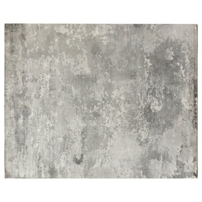 Koda Hand-Woven Silver Area Rug Rug Size: Rectangle�9 x 12
