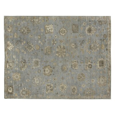 Museum Hand-Knotted Brown/Gray Area Rug Rug Size: Rectangle 14 x 18