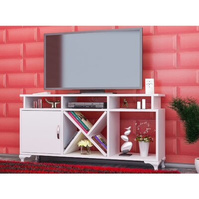 Morrisey 47 TV Stand Color: White