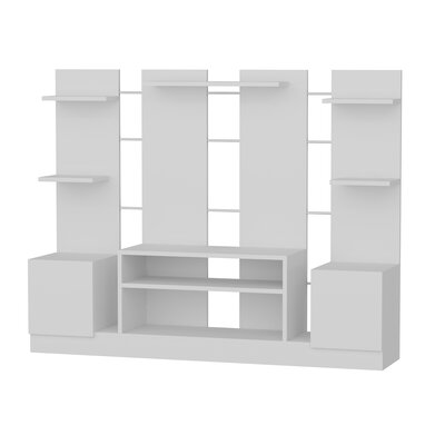 Renshaw 60 Entertainment Center Color: White