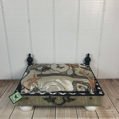 The Blue Blood Ocean Reef Pet Suitcase Bed