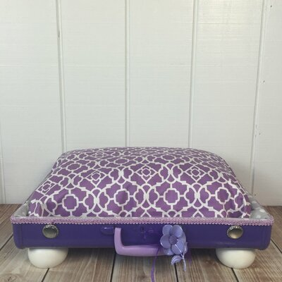 The Princess Fields Pet Suitcase Bed