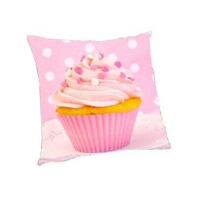 Hosking Cupcake Throw Pillow