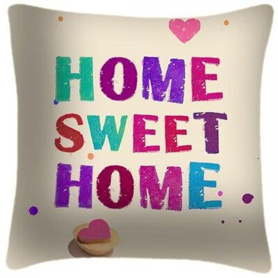 Houchins Home Sweet Home Throw Pillow