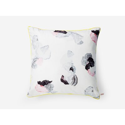 West Side Black/Pink Throw Pillow