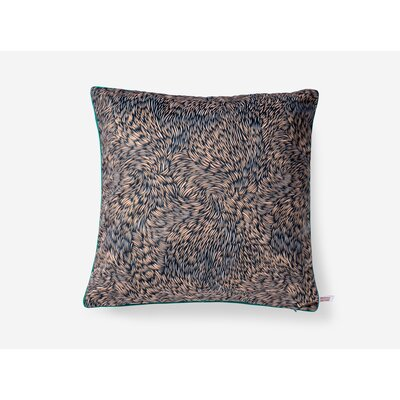 Roberta Black Throw Pillow
