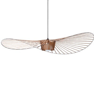 Wensley Geometric Pendant Finish: Copper, Size: 6.7 H x 78.7 W x 78.7 D