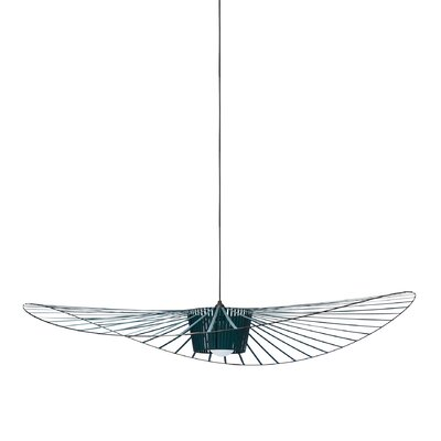 Wensley Geometric Pendant Finish: Green, Size: 6.7 H x 78.7 W x 78.7 D