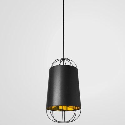 West Harptree 1-Light Mini Pendant Finish: Black/Gold