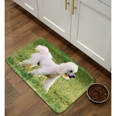 Barkley Poodle Kitchen Mat Mat Size: 16 x 26