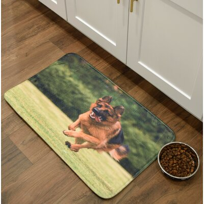 Barkley German Shepherd Kitchen Mat Mat Size: 16 x 26