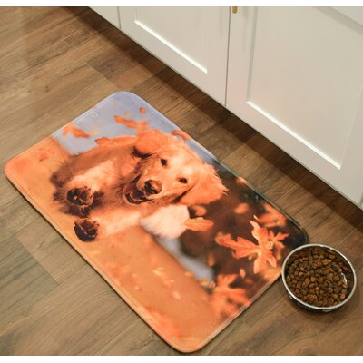 Barkley Retriever Kitchen Mat Mat Size: 16 x 26