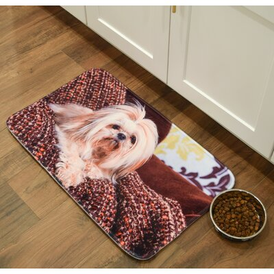 Barkley Shitzu Kitchen Mat Mat Size: 16 x 26