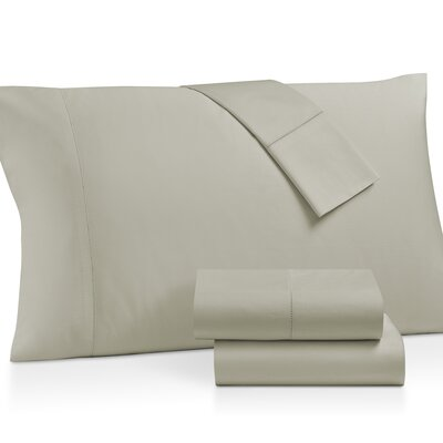 Gerrard Egyptian Quality 300 Thread Count 100% Cotton 4 Piece Sheet Set Size: California King, Color: Bone White